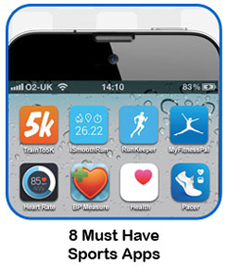 8 Must Have Sports Apps